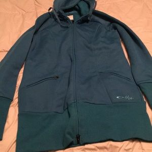 Oakley Sweaters - Oakley long body hoody, size M